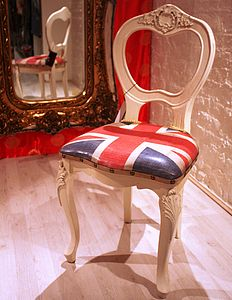 Union Jack Chair Last One