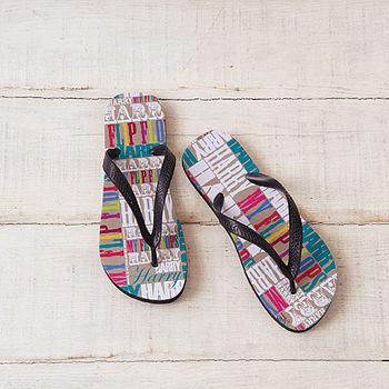 Personalised My Flip Flops