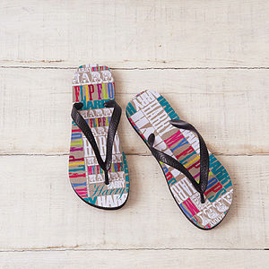 Personalised My Flip Flops - gifts under £25
