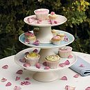 Porcelain Tiered Cake Stand