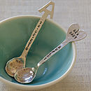 Personalised Sterling Silver Spoon