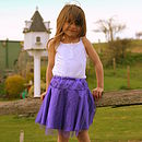 Pretty Princess Petticoat in Deep Lavender