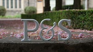 Hand Crafted Free Standing Wooden Letter - children's room accessories
