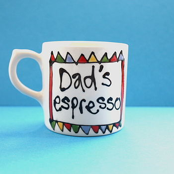 Personalised Espresso Cup