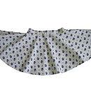 Vintage Lilac Rose Circle Skirt