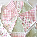 Floral Stripe Bunting