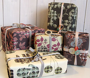 Eco Gift Wrap-Pack Of Five