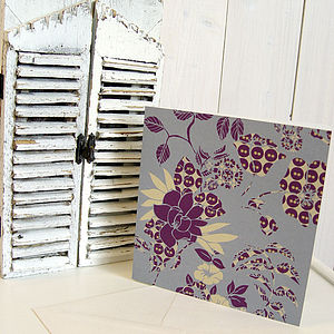 Eco Greeting Card-Juliette