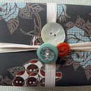 Lovely gift wrap