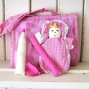 Fair Trade Dolly In Bag