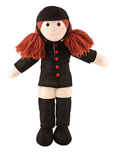 Ponyrider / Nurse Rag Doll - soft toys & dolls