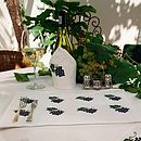 Grapes Table Linen collection