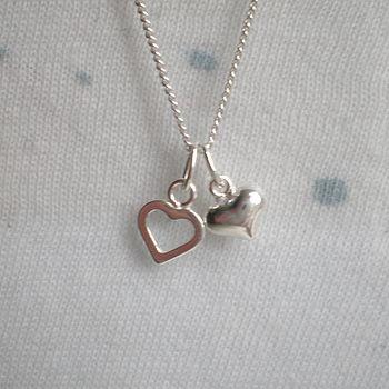 Double Heart Pendant