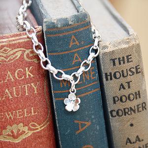 Handmade Silver Children's Charm Bracelet