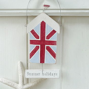 Union Jack Beach Hut