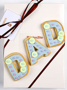 Dad Biscuit Gift - biscuits