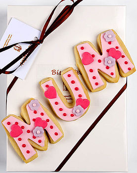 Homemade Shortbread Mum Biscuit Gift