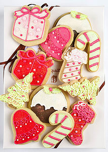 Christmas Biscuit Box Large - food & drink gifts