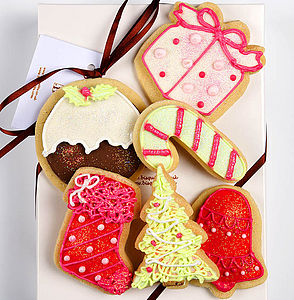 Christmas Biscuit Box Small - food & drink gifts