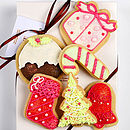 Christmas Biscuit Box/Gift Bag Small