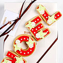 Homemade Shortbread Christmas Noel Biscuit Gift