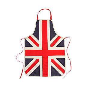Union Jack Apron - picnics & barbecues