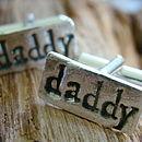 Daddy cuff links