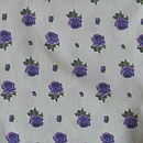 Vintage Lilac Rose fabric swatch