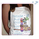 Personalised 'Yummy Treats' Aprons