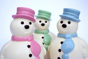 Fat Chocolate Snowman - food & drink gifts