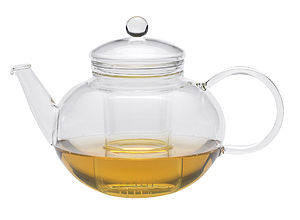 Miko Glass Teapot 1200ml - kitchen linen