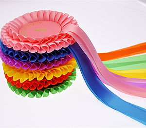 Number Rosette Bunting - decorative letters