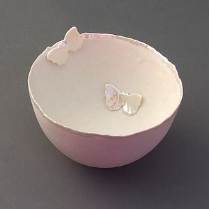 Porcelain Butterfly Bowl