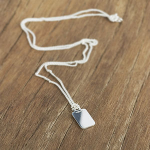 Additional Silver Curb Chain Necklace - necklaces & pendants