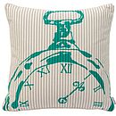 Numeral Pocket Watch Cushion