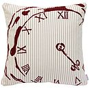 Numeral Centre Pocket Watch Cushion