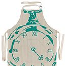 Full Numeral Pocket Watch Apron