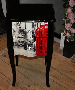 London City Or New York City Print Chest - furniture