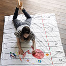 colour-in child duvet cover to design
