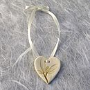 Small Heart Hanging Decoration