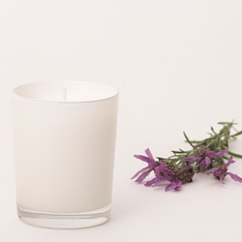 Lavender Essential Oil Handmade Natural Candle