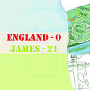 Noths card hb england white:2
