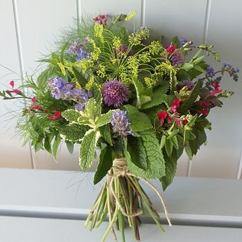 Homegrown Herb Posy