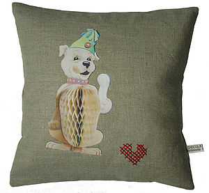 Handmade Cushion Charlie In The Circus - decorative accessories