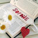 Personalised Lavender Bookmark