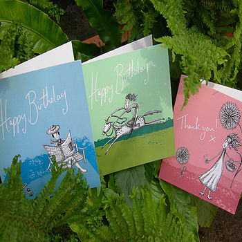 'Great outdoors' birthday cards 5 designs