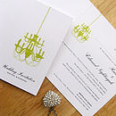 Chandelier Invitation Inner
