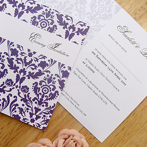 Flockamania Wedding Stationery Collection - place cards