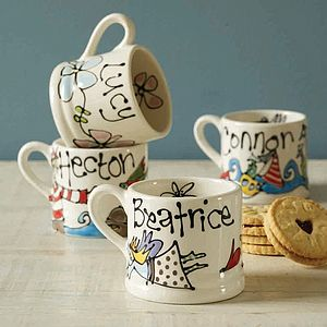 Personalised Nursery Mug - tableware