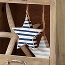 stripy star_french navy